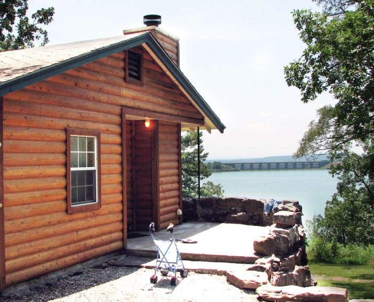 Some Of The Cabins At Tenkiller State Park Have Been Given Log Siding, For  That Rustic, Log Cabin Feel. Many Of The Planned Renovations To State Park  Cabins ...