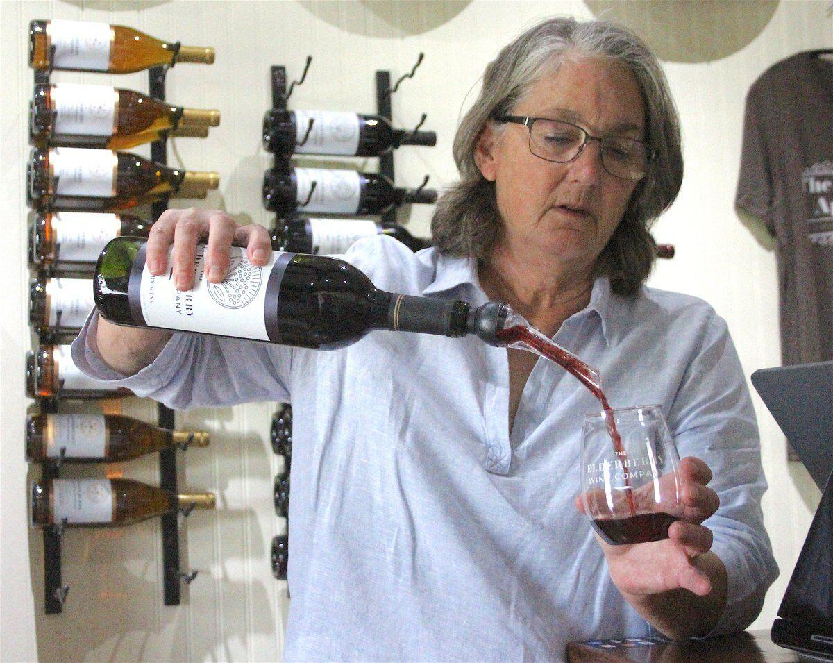 EVERYTHING ELDERBERRY: Couple at 360 Farms create wine out of Oklahoma-native plant