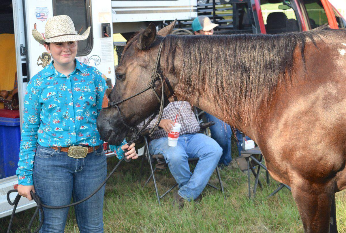 A SMALLER FAIR: Horse competition kicks off truncated annual event for youth