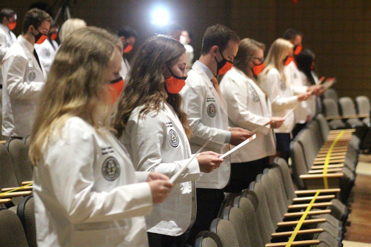 OSU College of Osteopathic Medicine at Cherokee Nation inaugural class