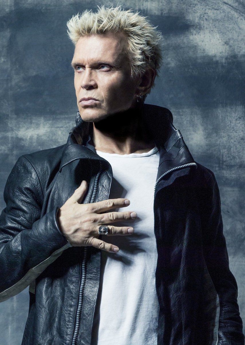 Billy idol amplifies tulsa arts entertainment billy idol is coming to the joint inside hard rock hotel casino tulsa on sept 22 malvernweather Gallery