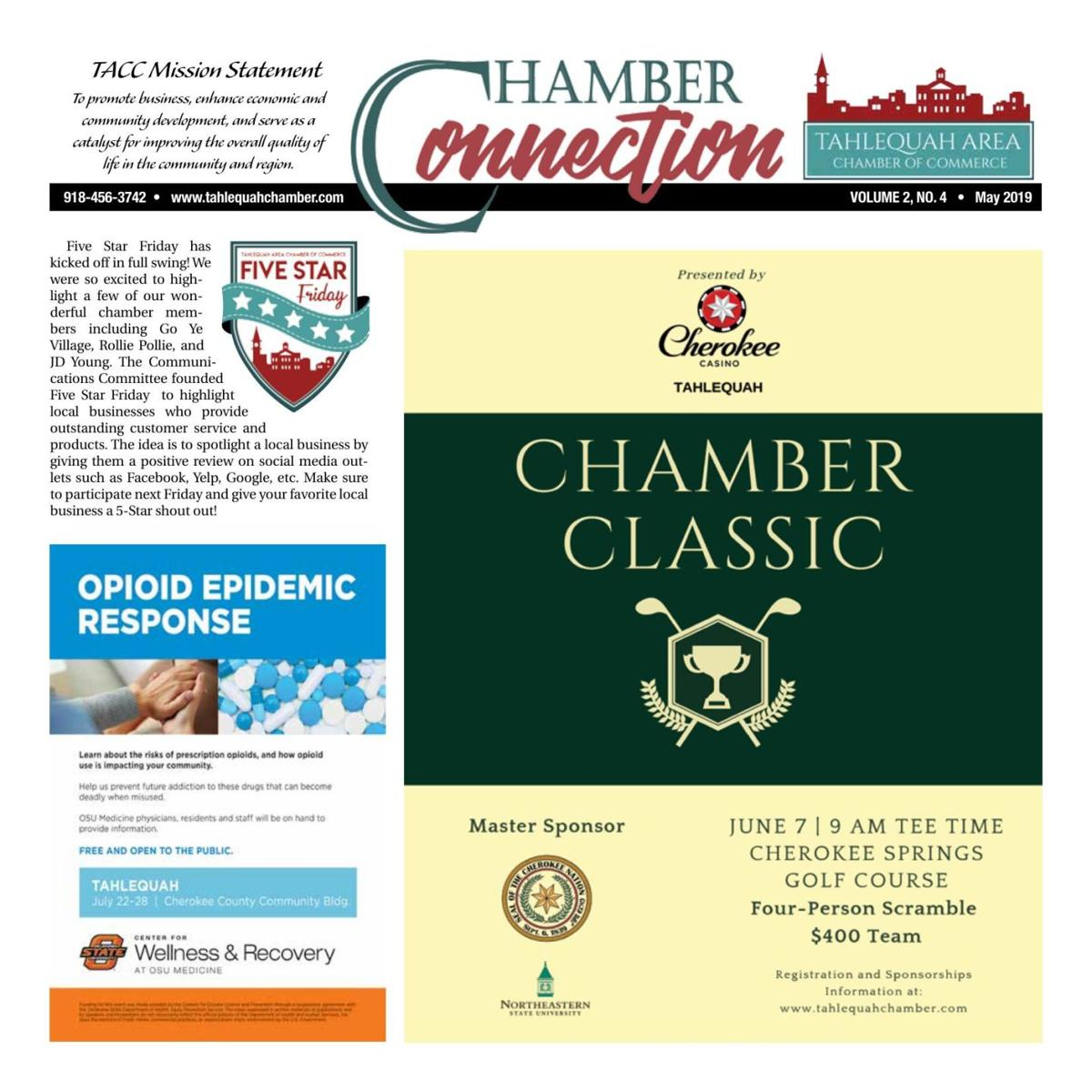 Chamber Connection May 2019