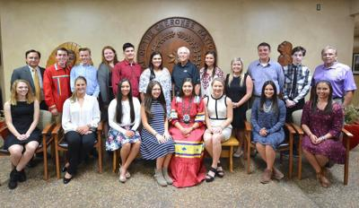2016-'17 Cherokee Nation Tribal Youth Council