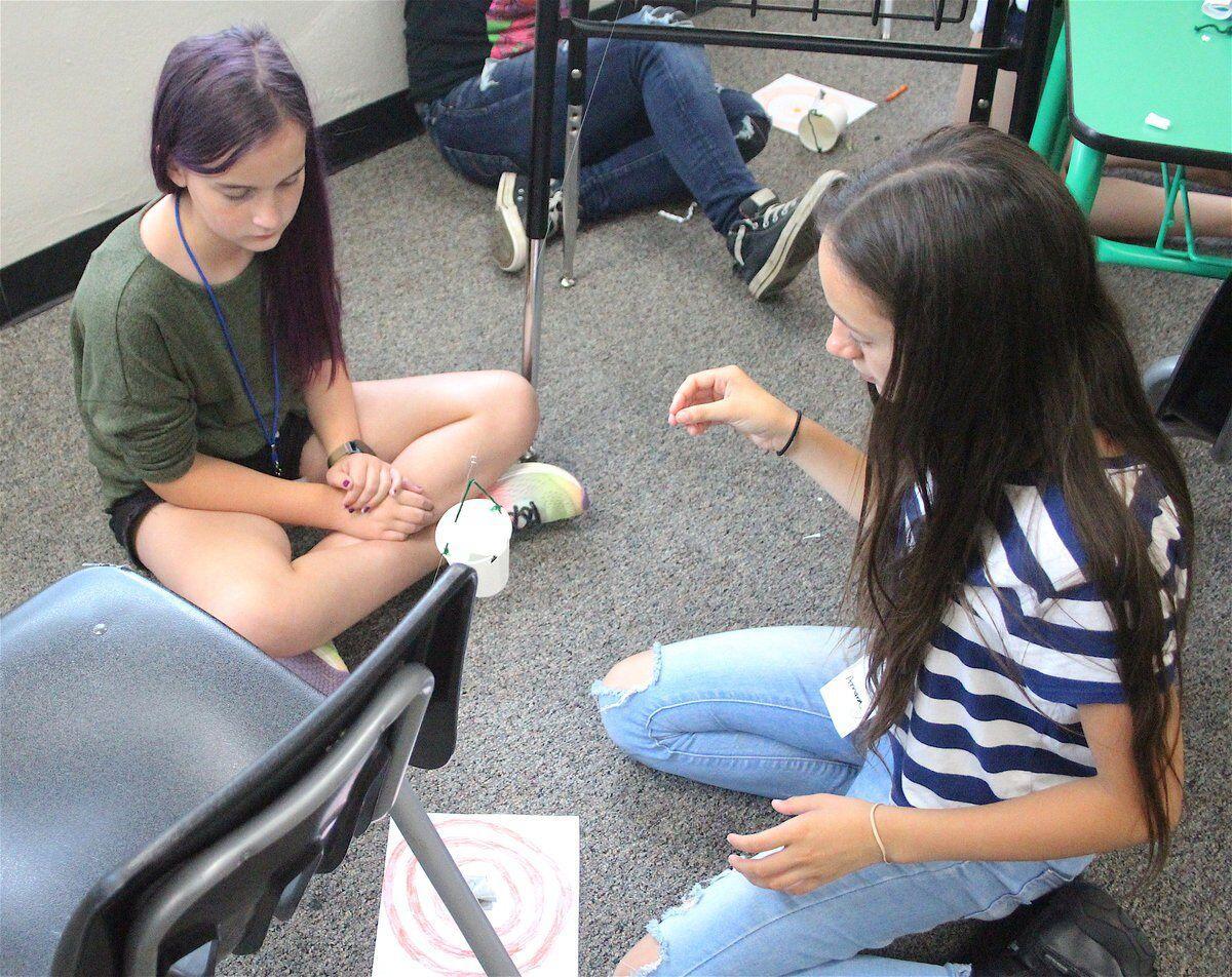 SHOOTING STARS: Students take on NASA problems at NSU summer academy