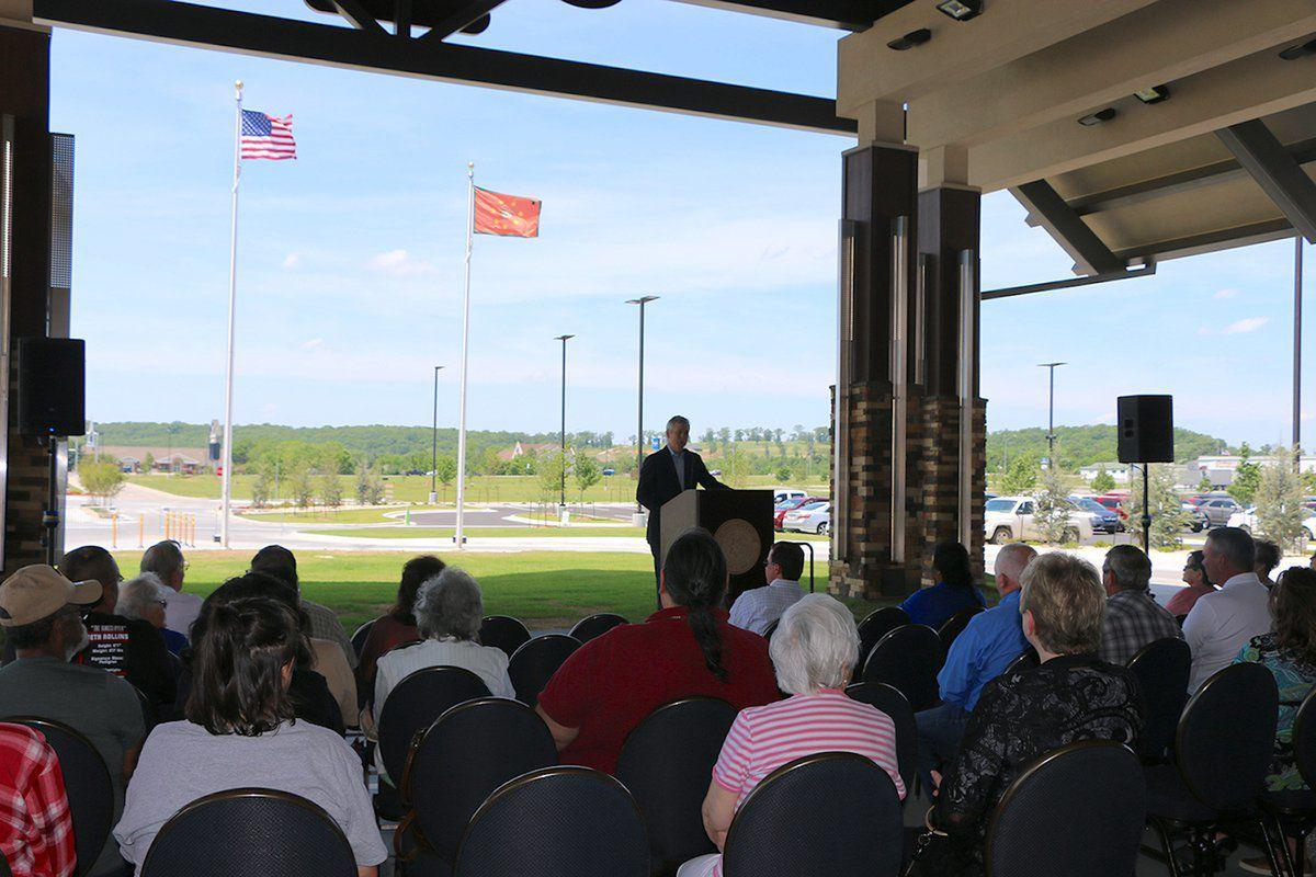 Cherokee Casino Tahlequah celebrates grand opening at Cherokee Springs Plaza