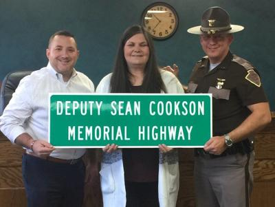 Deputy Sean Cookson memorialized with highway dedication