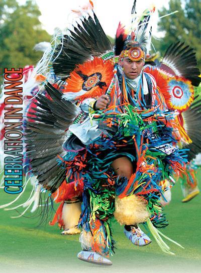 Intertribal powwow grand entry