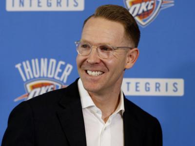 Thunder Presti Basketball