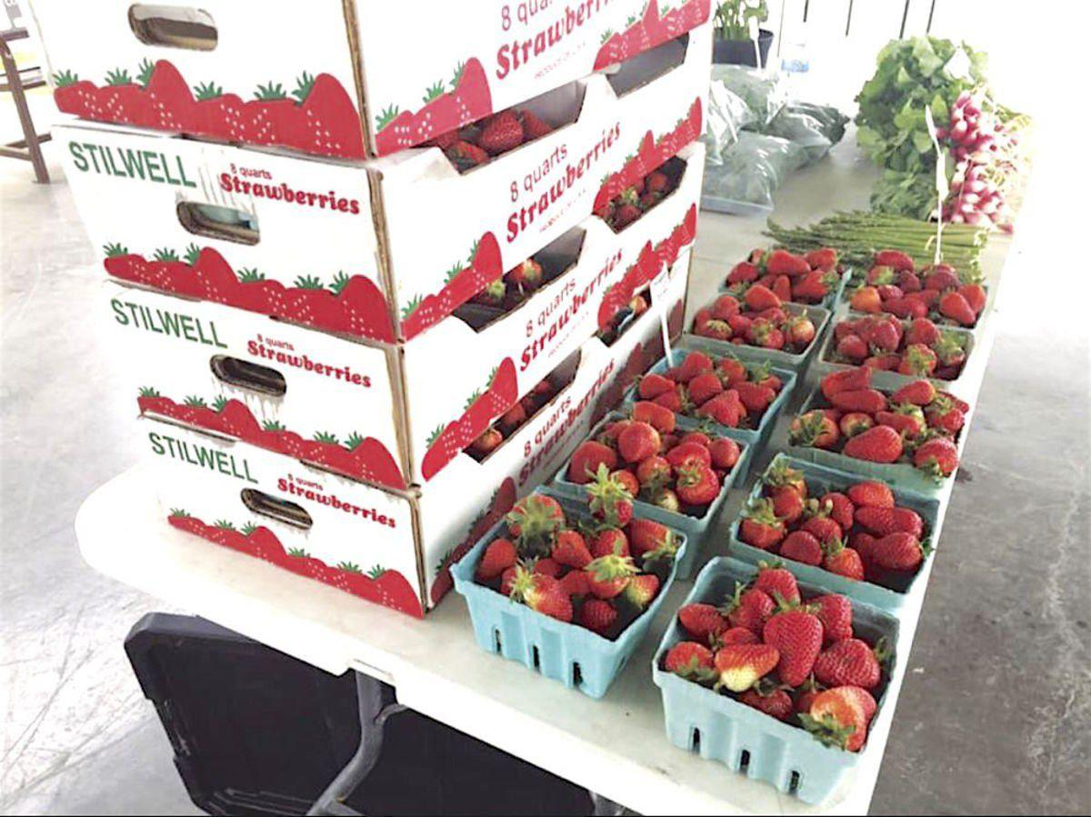 Stilwell strawberries available; judging, auction to be held online