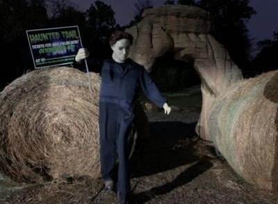 Haunted trails experience coming to Turkey Mountain
