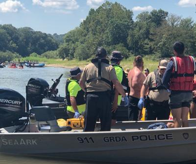 Oaks VFD works closely with GRDA on river