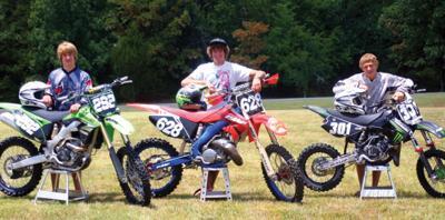 Tahlequah racing trio