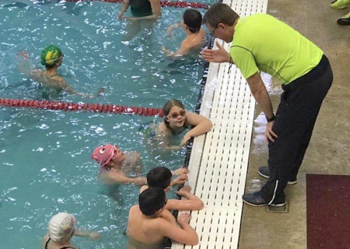 Local swim team competes at statewide level