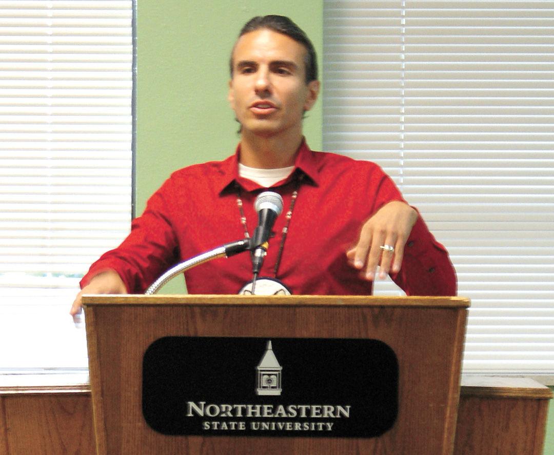 Treuer talks about Ojibwe language