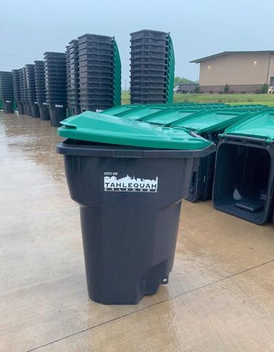 Solid Waste rolling out garbage carts