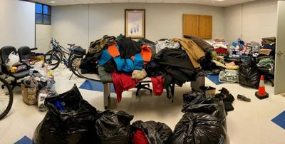 Area shelters kept busy during storm