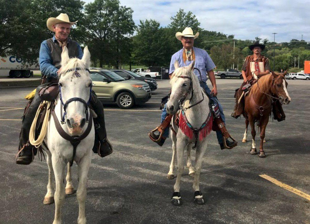 Horsemen retracing Trail of Tears for charity