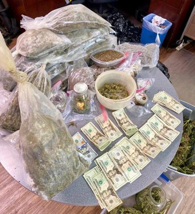 Man caught with 40 lbs. of pot