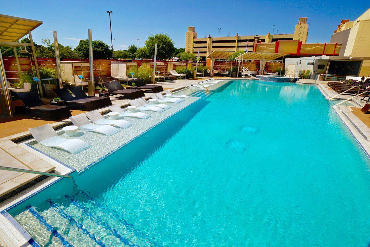 Hard rock hotel casino making big waves with the pool Hot tubs tulsa