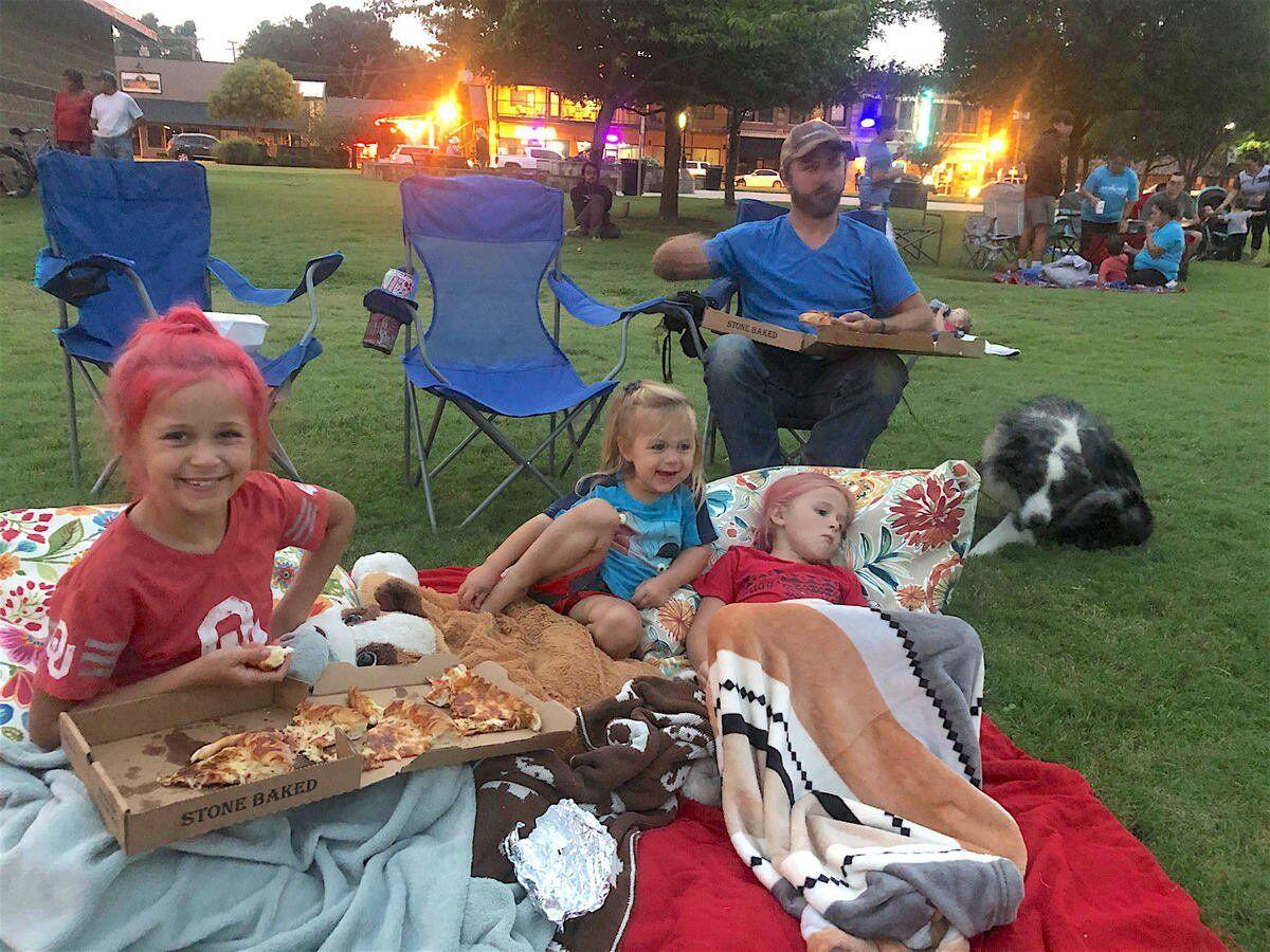 COMMUNITY SPIRIT: TMSA Movies in the Park season ends on high note