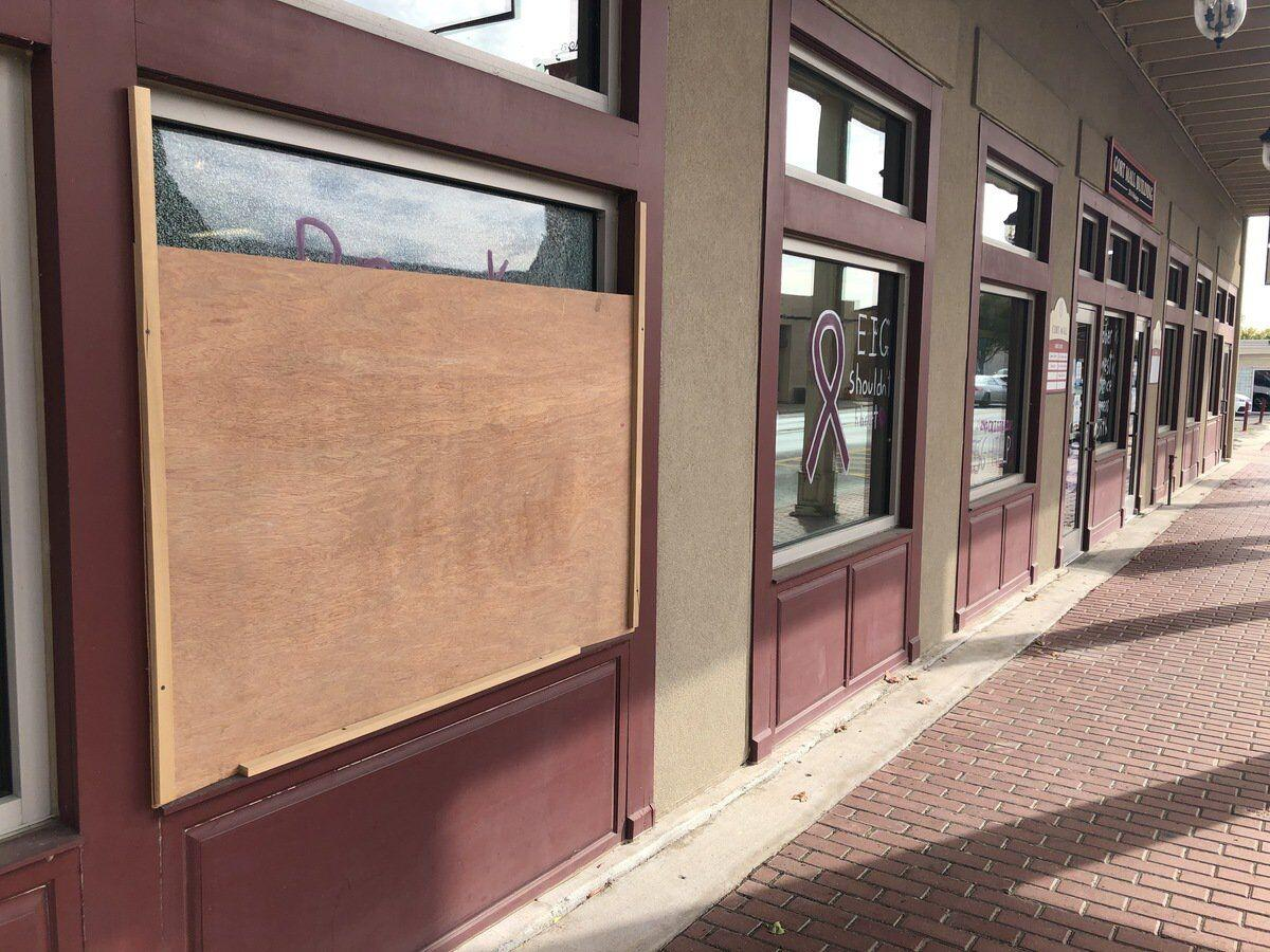 TASKED WITH GLASS: Businesses quick to get windows repaired after vandalism
