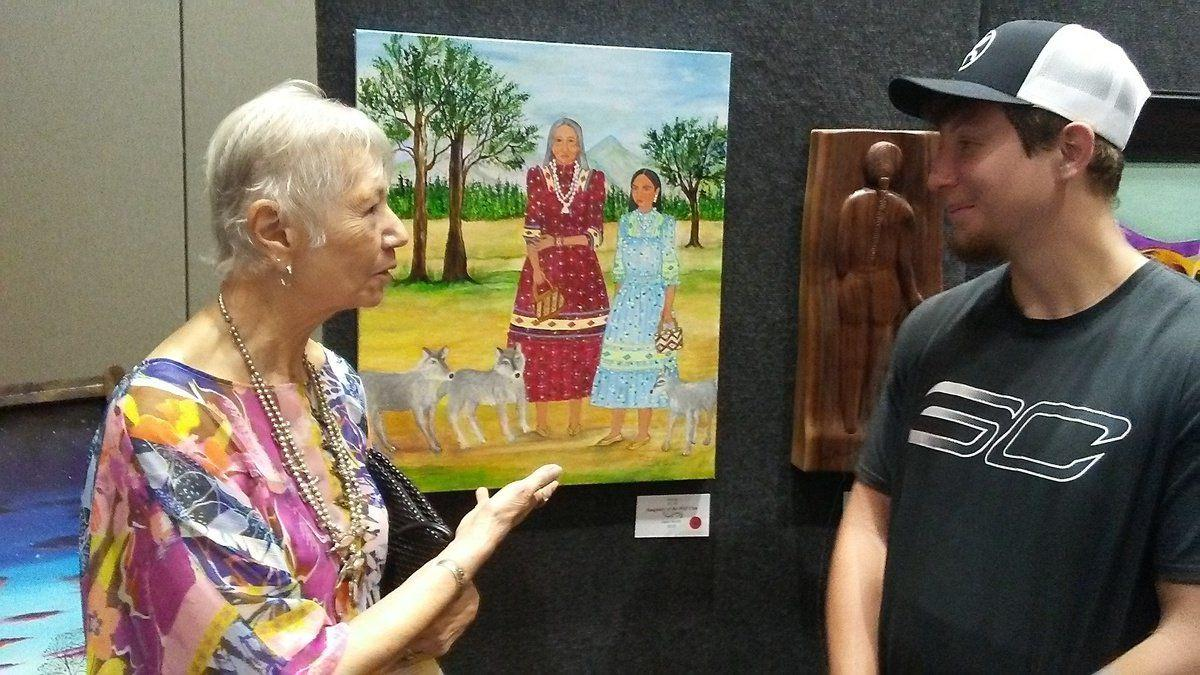 Holiday art show touts 230 pieces