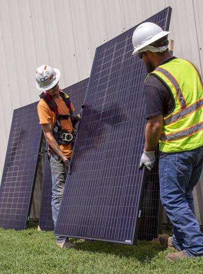 Tribe providing solar panels in Chewey
