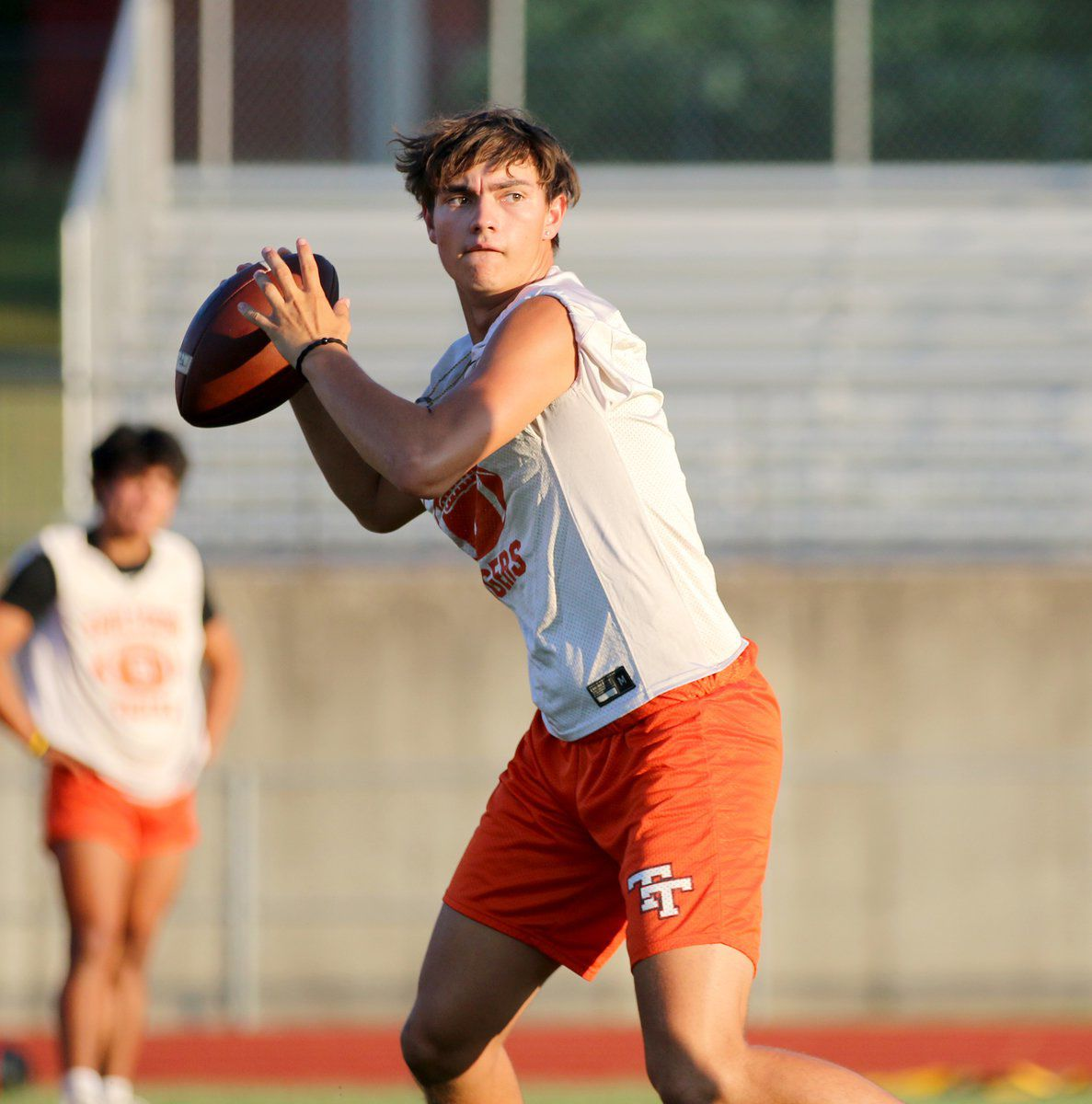 Tigers hold first practice Monday evening
