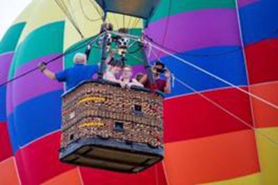 Family Fun in the Skies set at FireLake Fireflight Balloon Fest
