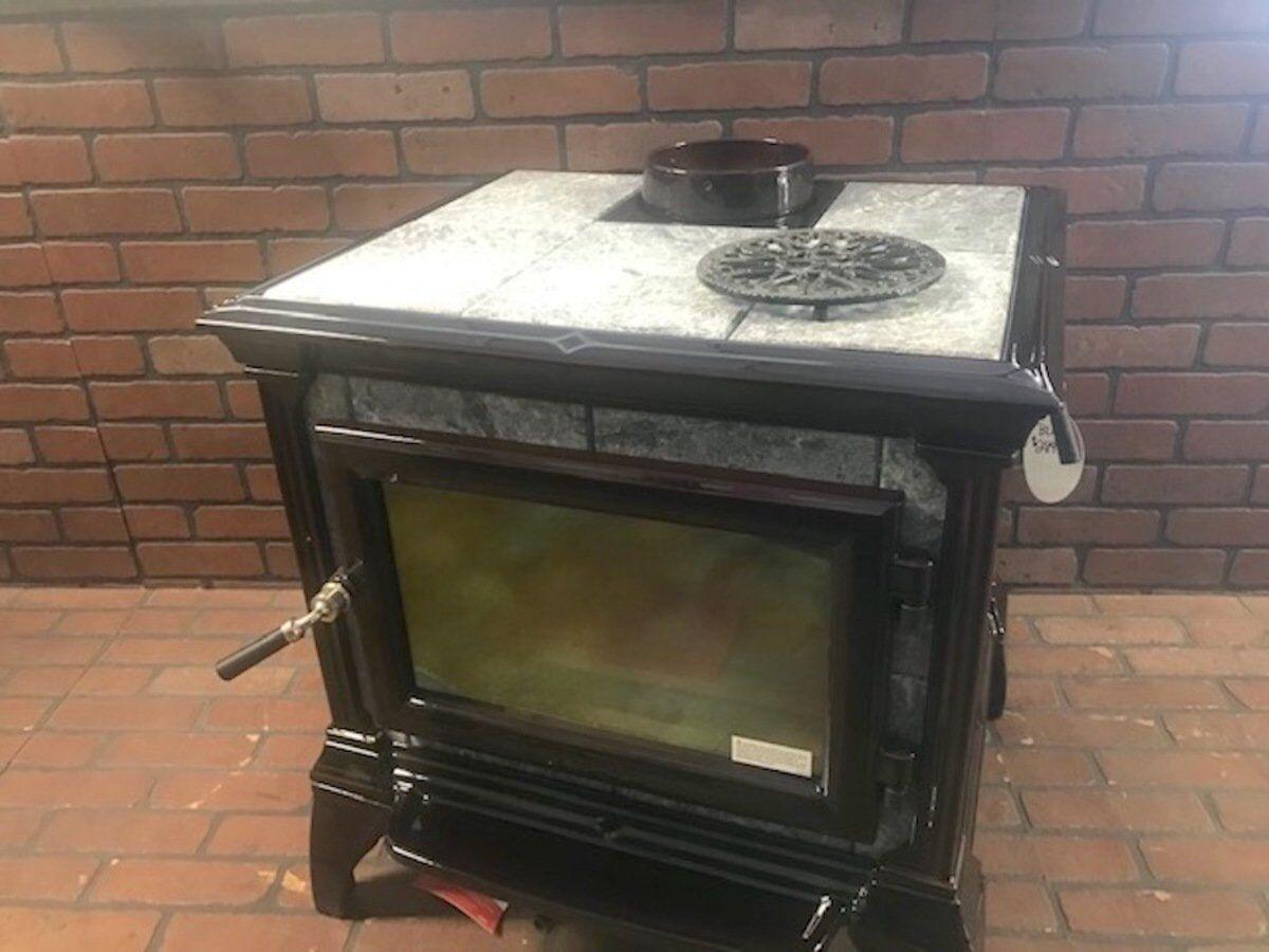 Wood-burning stoves solve heating problems