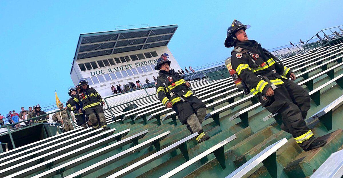 FATEFUL STEPS: ROTC, firefighters pay homage with Stair Climb to comrades in NYC who were 'called home' for final time during 9/11
