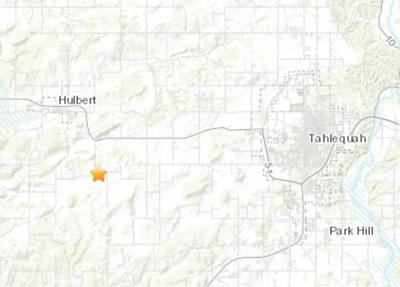2.2 magnitude earthquake