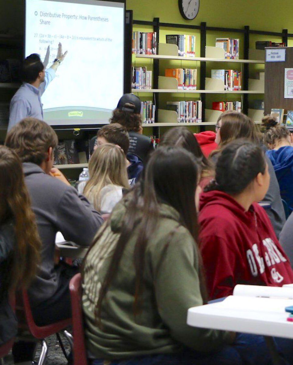 Area high school students prepare for ACT
