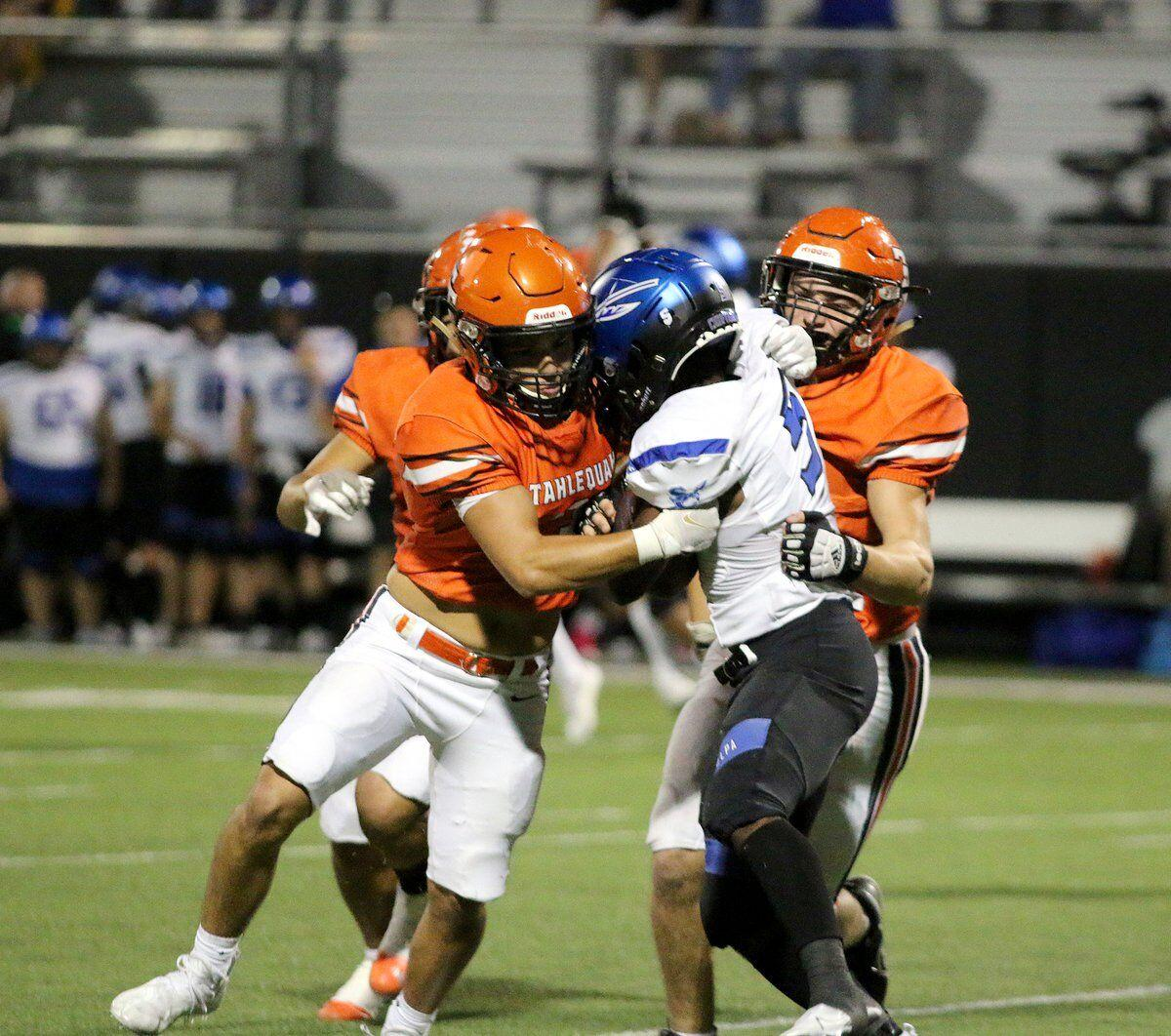 TIGER MAGIC: Tahlequah scores 21 unanswered points in the second half to deflate Sapulpa
