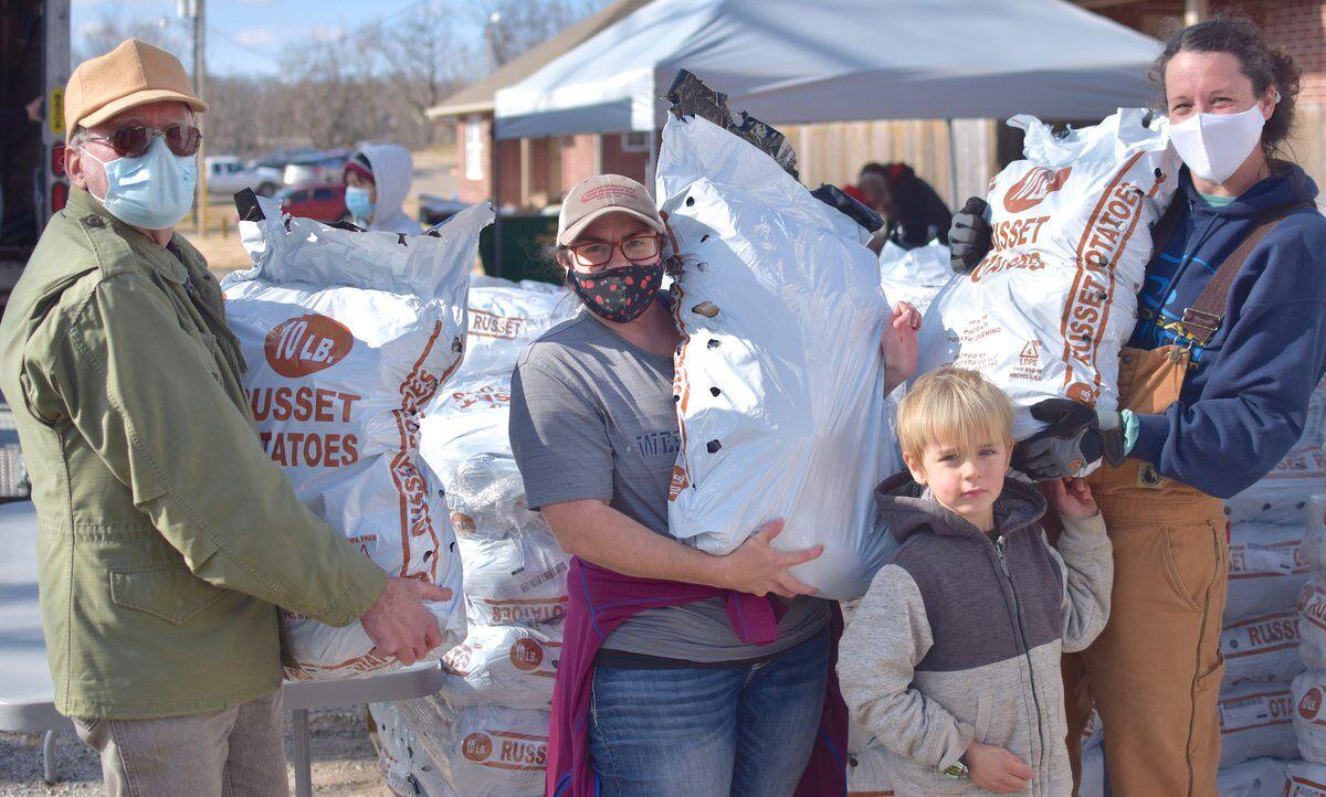 FEEDING THE NEEDY: Bread of Life volunteers say number of hungry locals has increased greatly