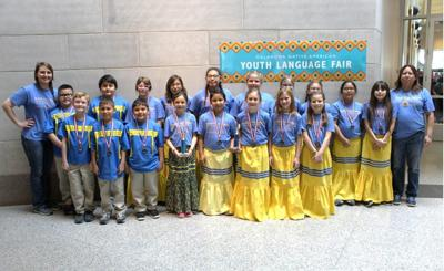 Grand View School choir