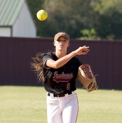 Lady Indians cruise in sweep of Dewey