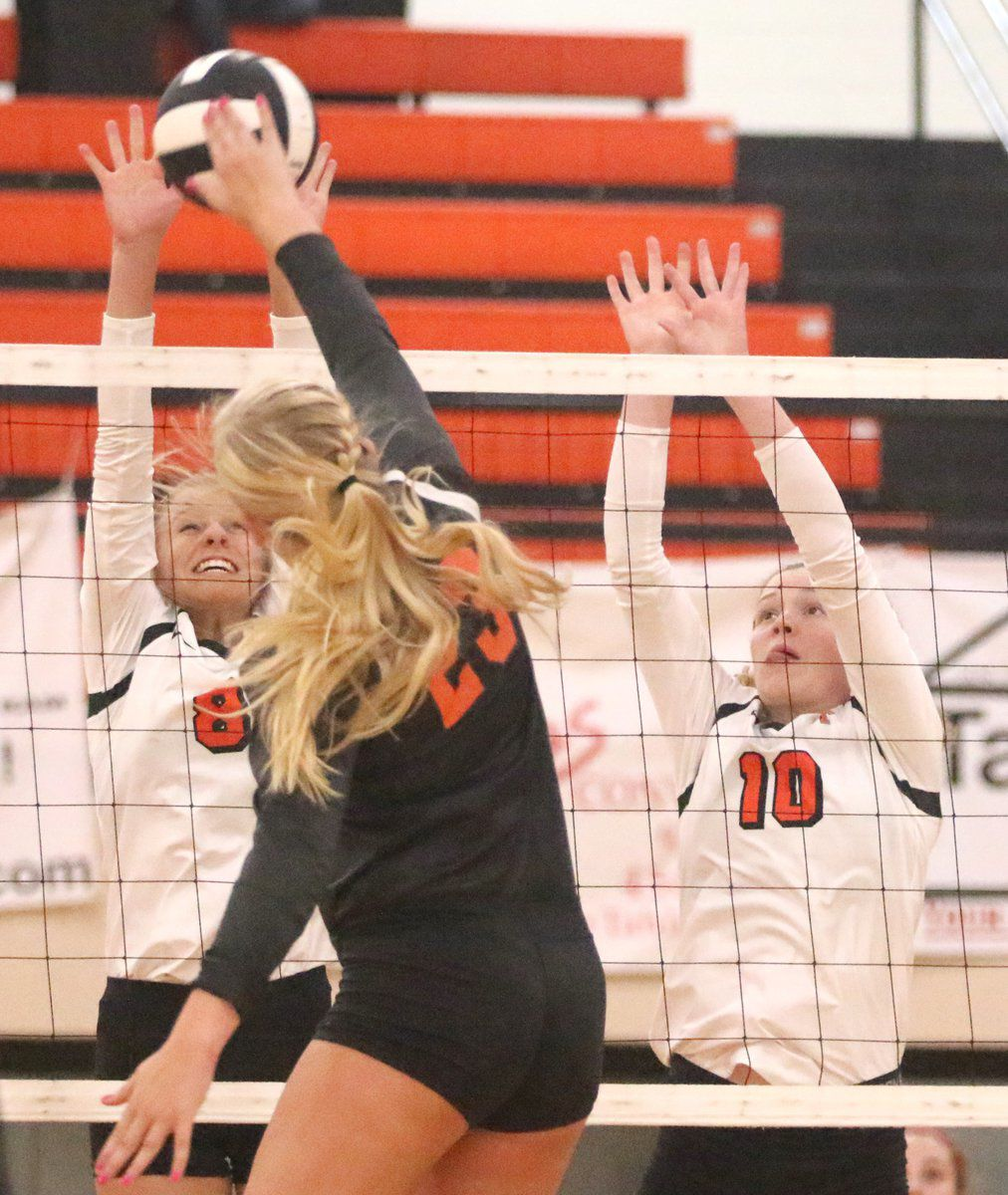 Lady Tigers dump Okay in four sets
