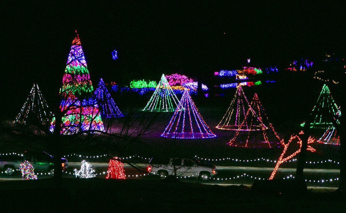 Muskogee Christmas Lights 2020 Castle Christmas, Garden of Lights to open Thanksgiving Day | Arts