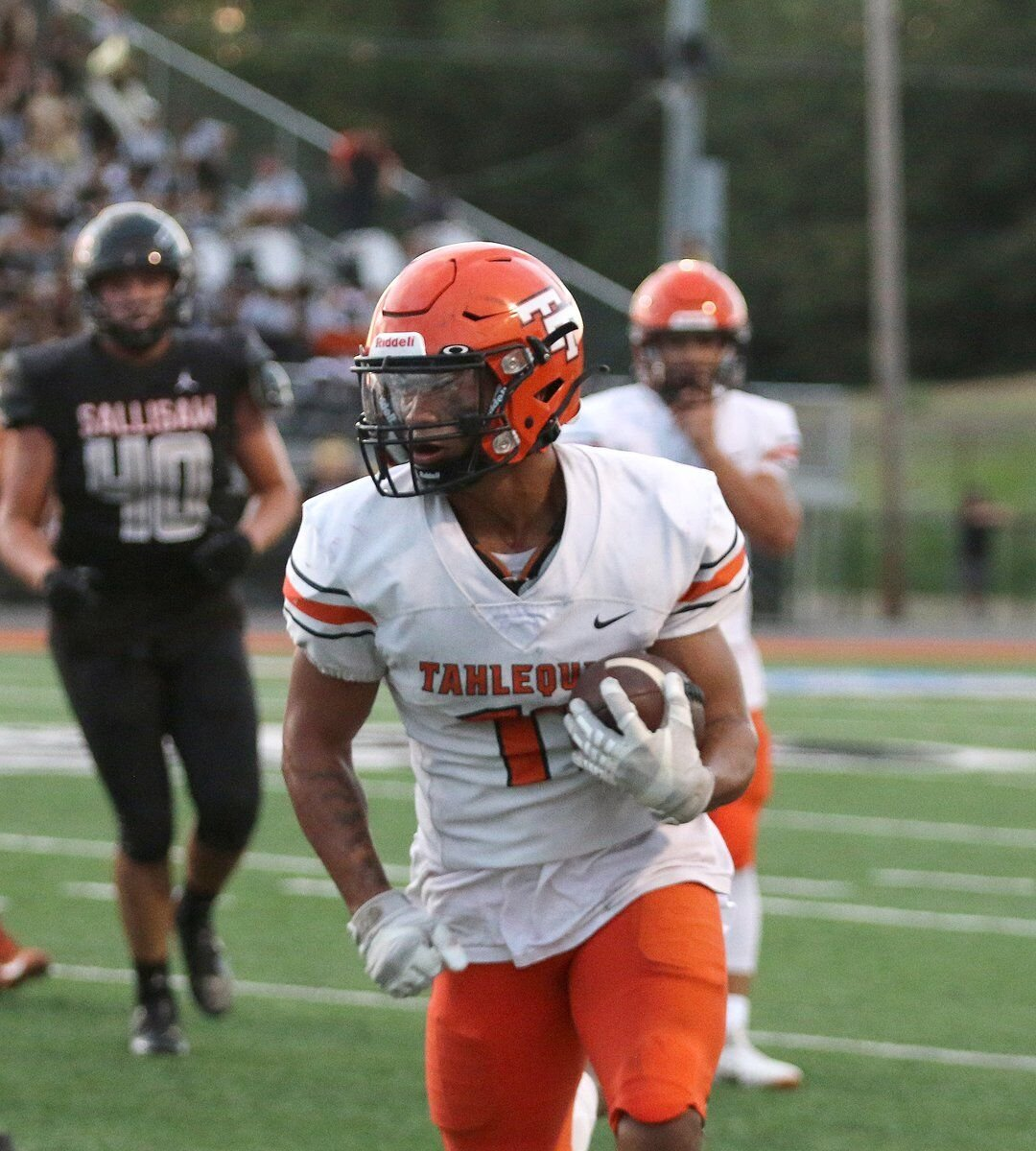 BACK ON TOP: Tigers close non-district play with 42-13 rout of Sallisaw