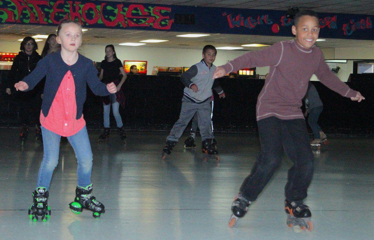 Skate race