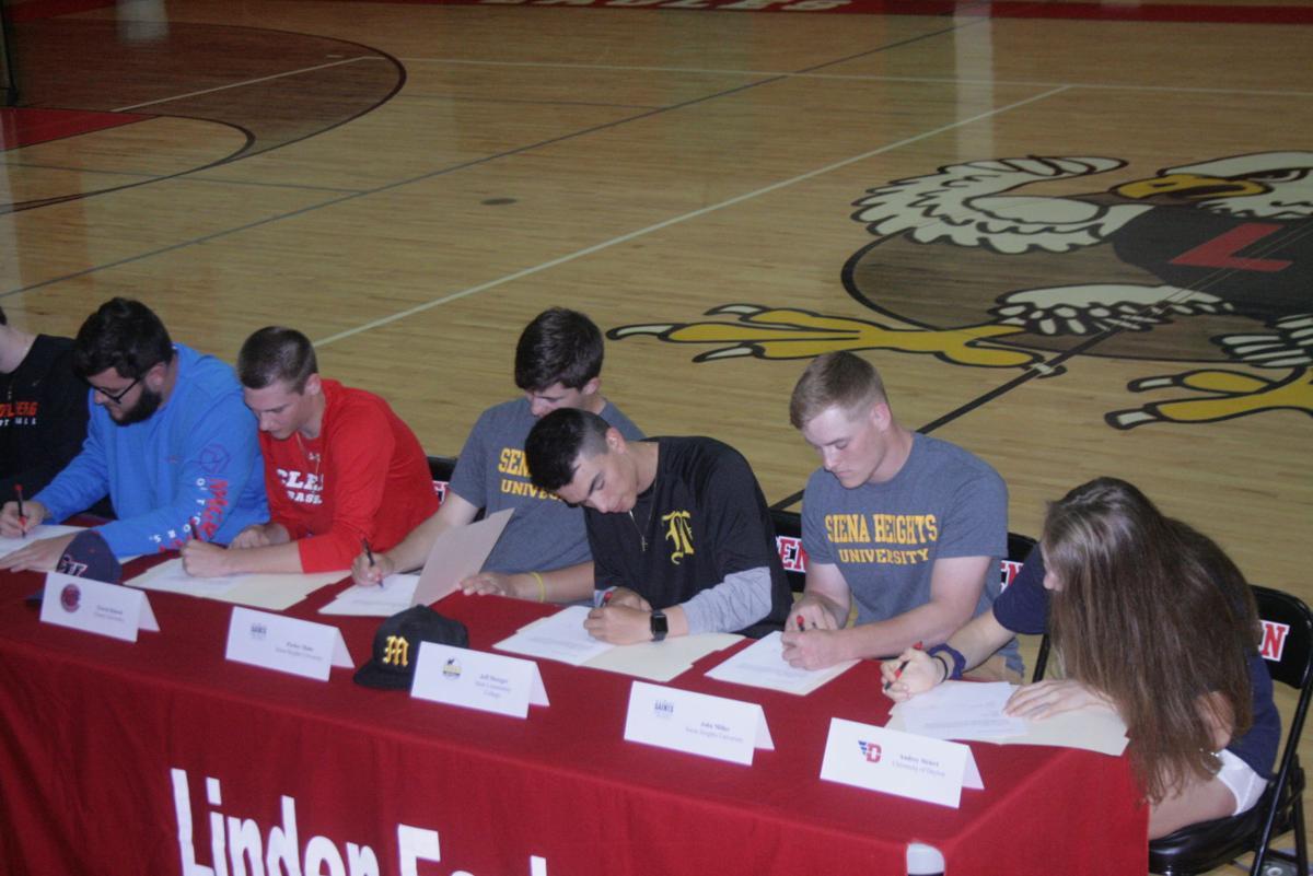 Linden signing