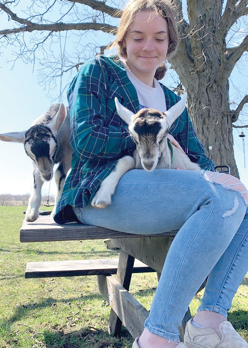 Jenna Anderson and her goat.jpeg