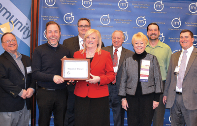 Fenton wins Community Excellence Award