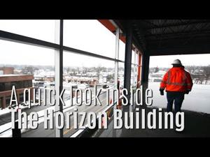 A look inside The Horizon Building site