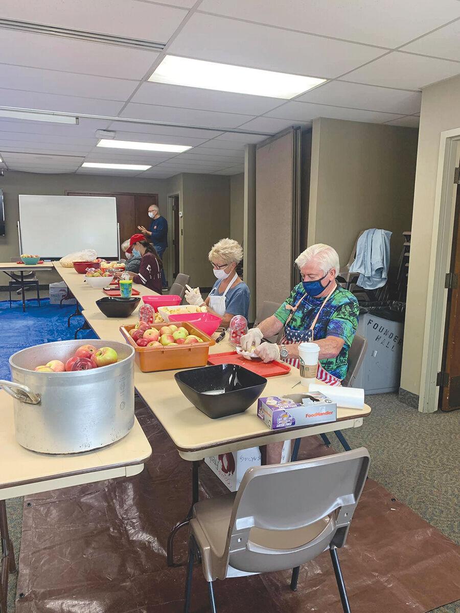 volunteers make applefest pies for 2020.jpg