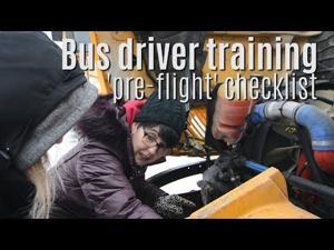 Under the hood — Fenton Bus driver checklist