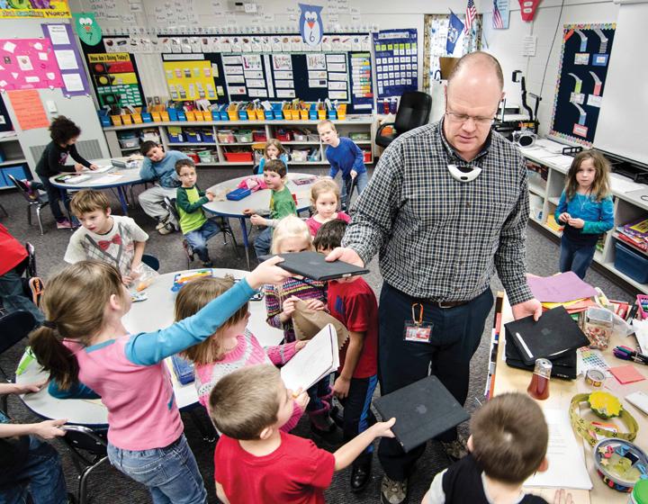 Gender gap growing in teaching profession