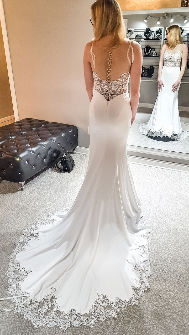 Your wedding dress — it may be new, used, borrowed or blue ...