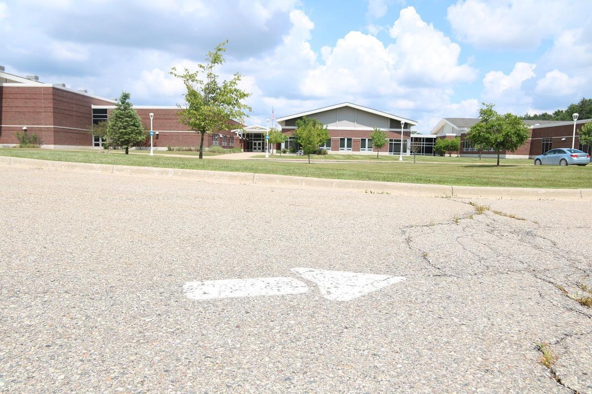 Linden Middle School entrance